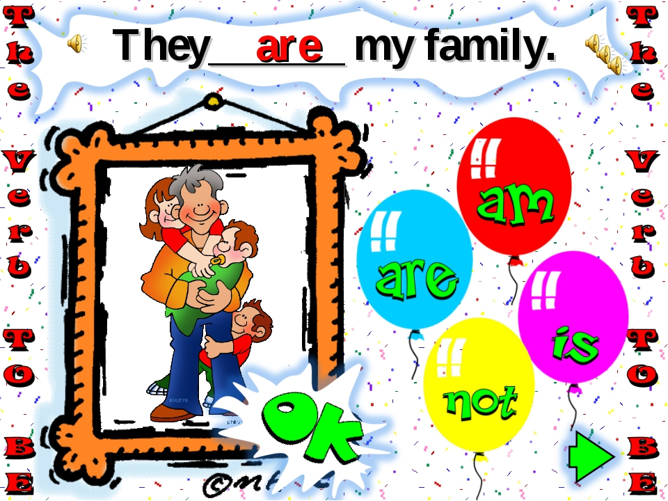 They______ my family. are