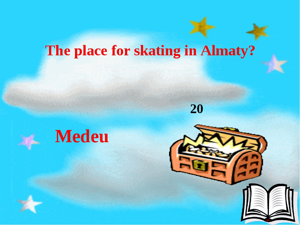 20 The place for skating in Almaty? Medeu