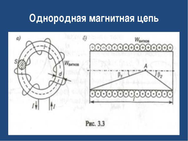 Однородная магнитная цепь
