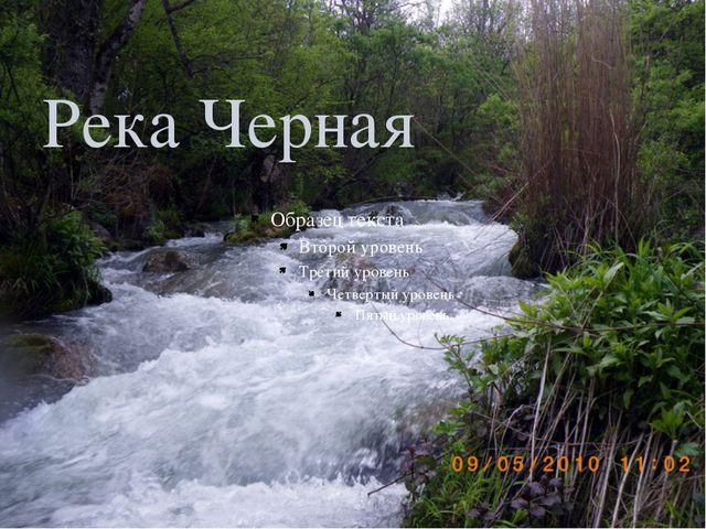 Река Черная