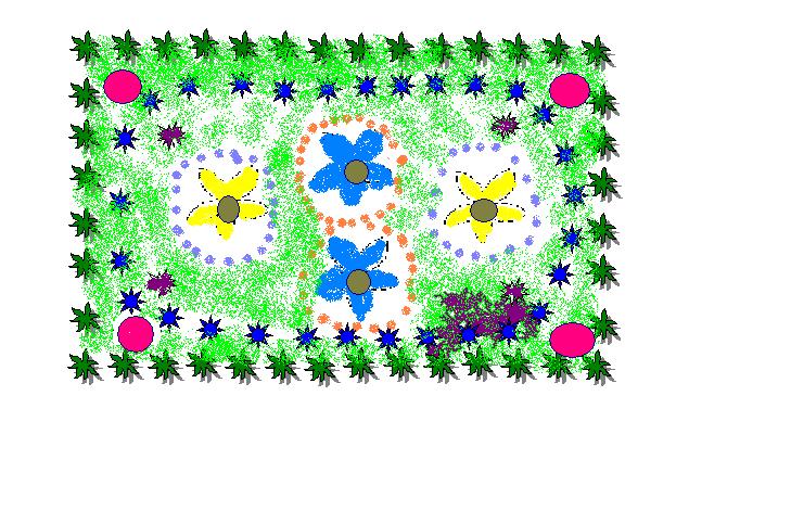 Цветник 5