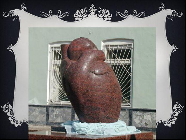 Памятник сердцу в Перми.