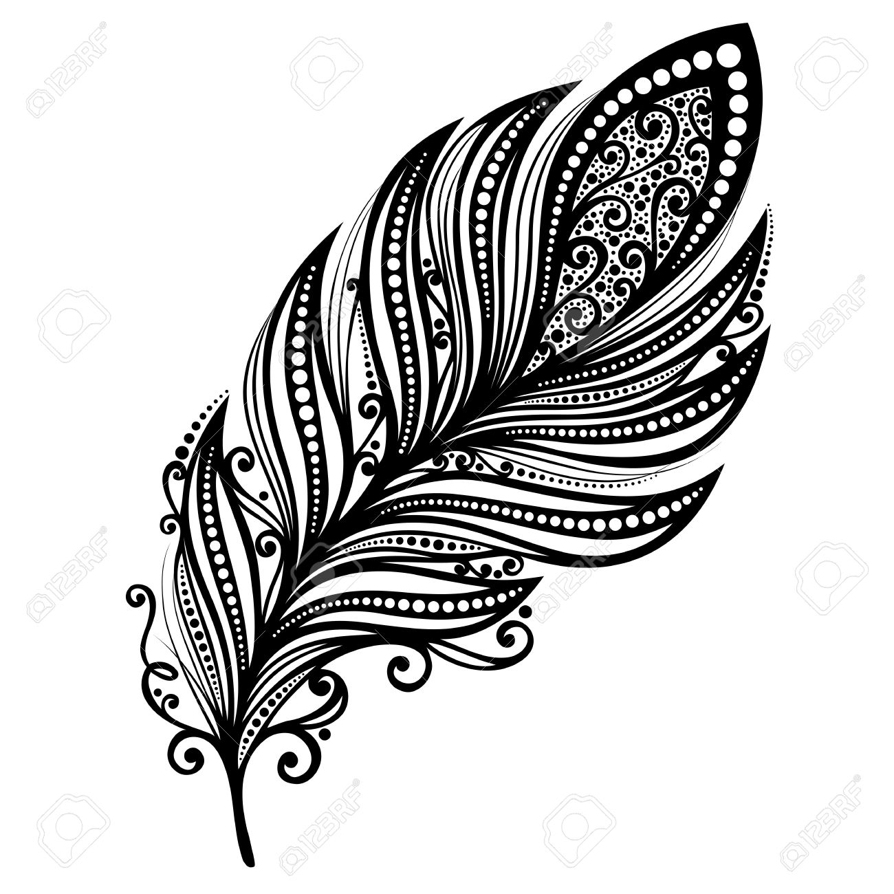 http://previews.123rf.com/images/irinarivoruchko/irinarivoruchko1403/irinarivoruchko140300246/26705730-Peerless-Decorative-Feather-Vector-Patterned-design-Tattoo-Stock-Vector.jpg