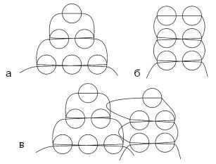 Бисер схемы плетения параллельное плетение