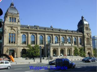 Wuppertal. Stadthalle