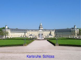 Karlsruhe. Schloss