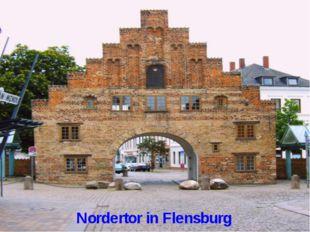 Nordertor in Flensburg