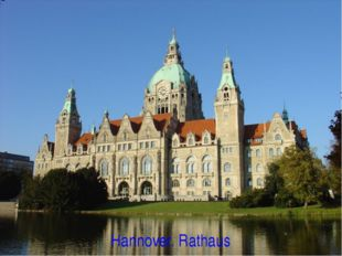 Hannover. Rathaus