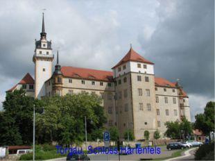 Torgau. Schloss Hartenfels