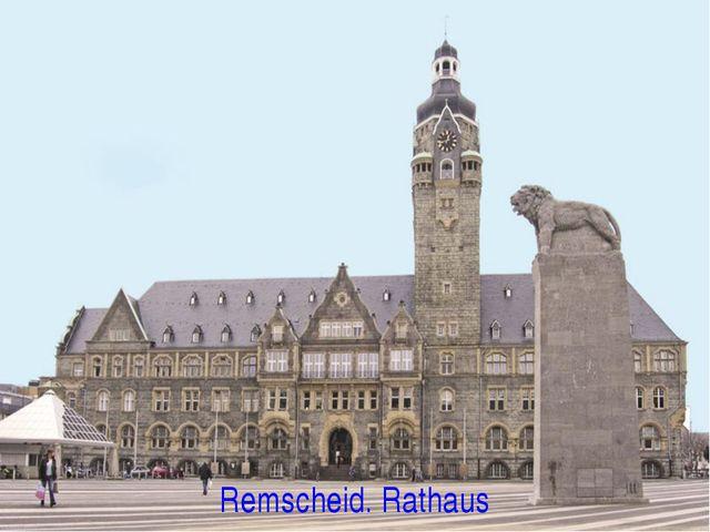 Remscheid. Rathaus
