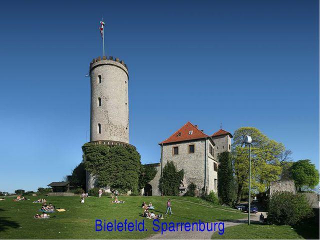 Bielefeld. Sparrenburg
