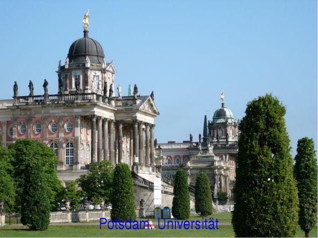 Potsdam. Universität
