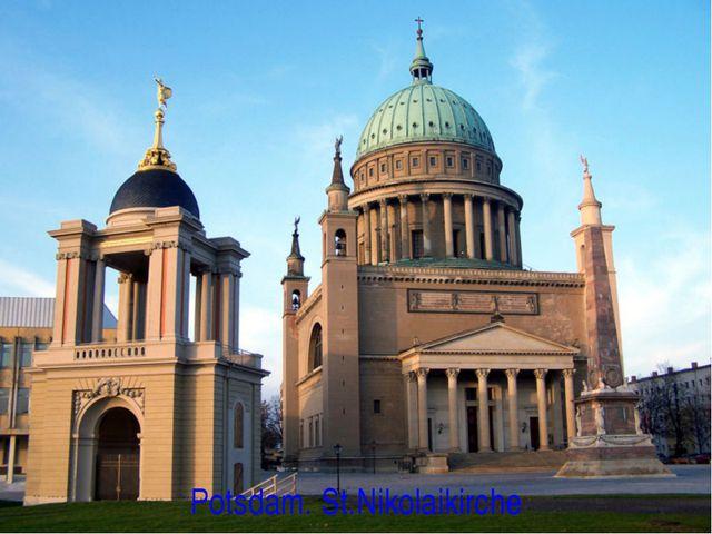Potsdam. St.Nikolaikirche