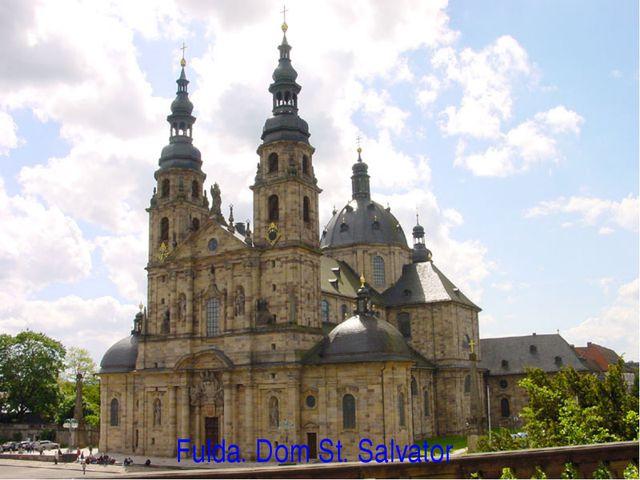 Fulda. Dom St. Salvator