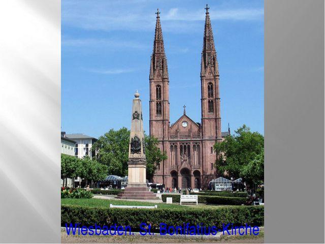 Wiesbaden. St. Bonifatius-Kirche