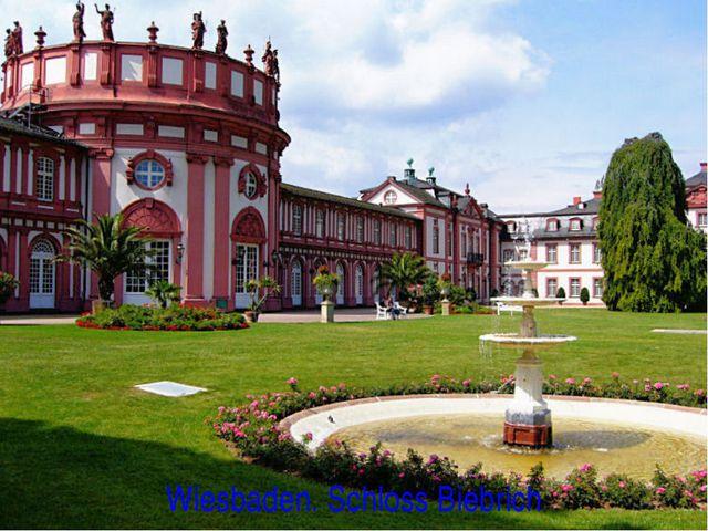 Wiesbaden. Schloss Biebrich