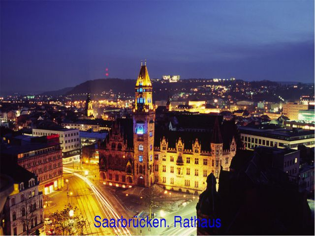 Saarbrücken. Rathaus