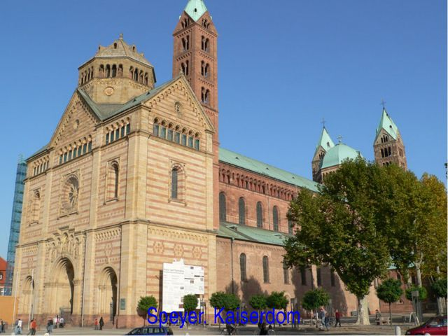Speyer. Kaiserdom