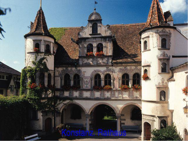 Konstanz. Rathaus