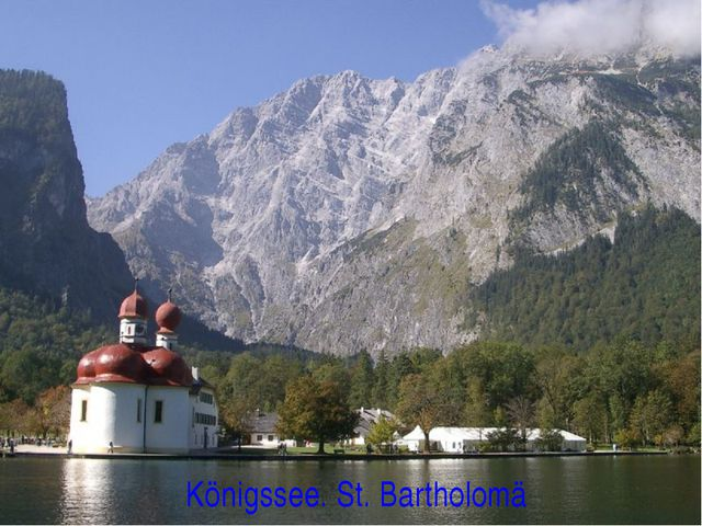Königssee. St. Bartholomä