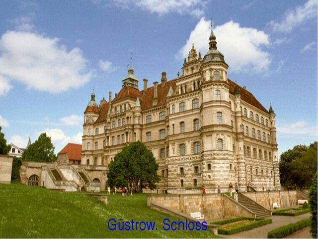 Güstrow. Schloss