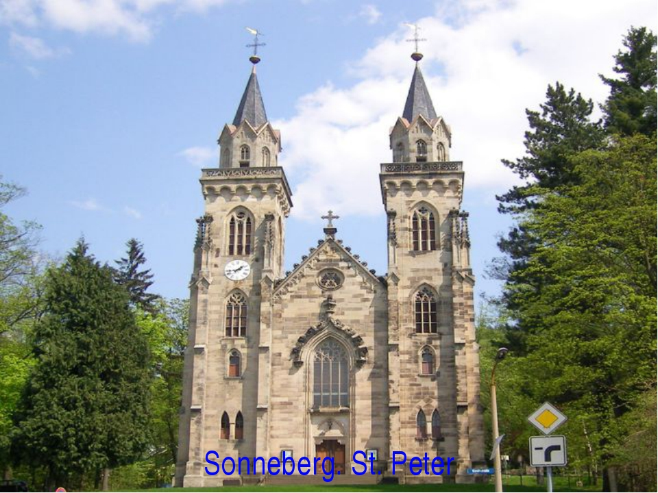 Sonneberg. St. Peter