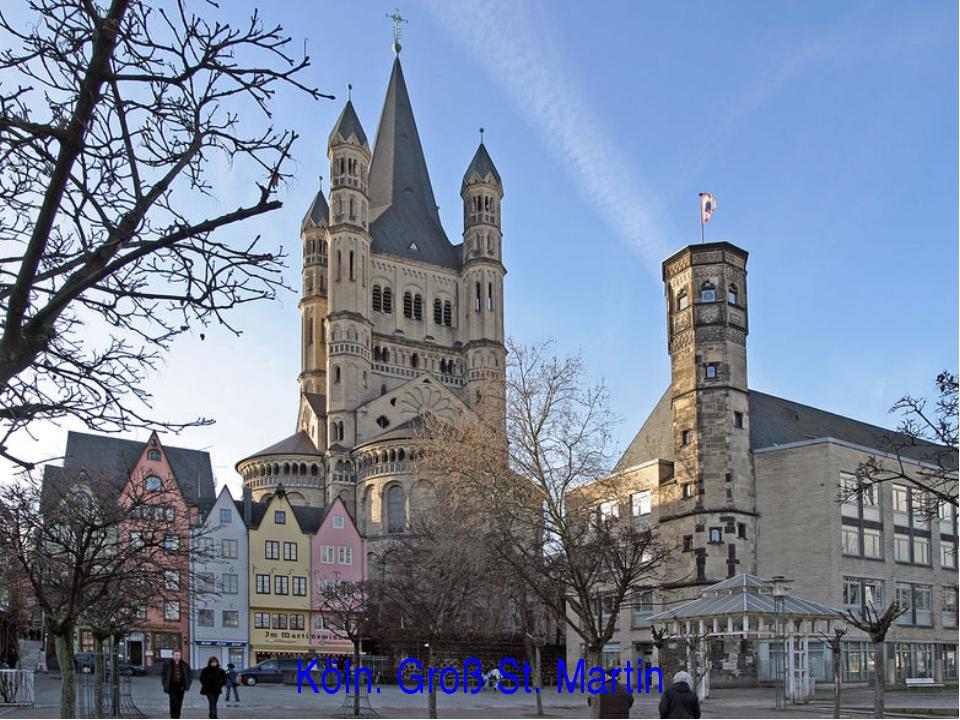 Köln. Groß St. Martin