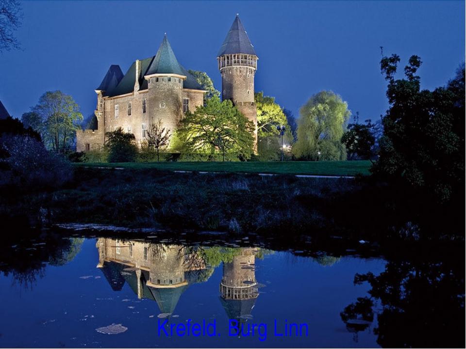 Krefeld. Burg Linn