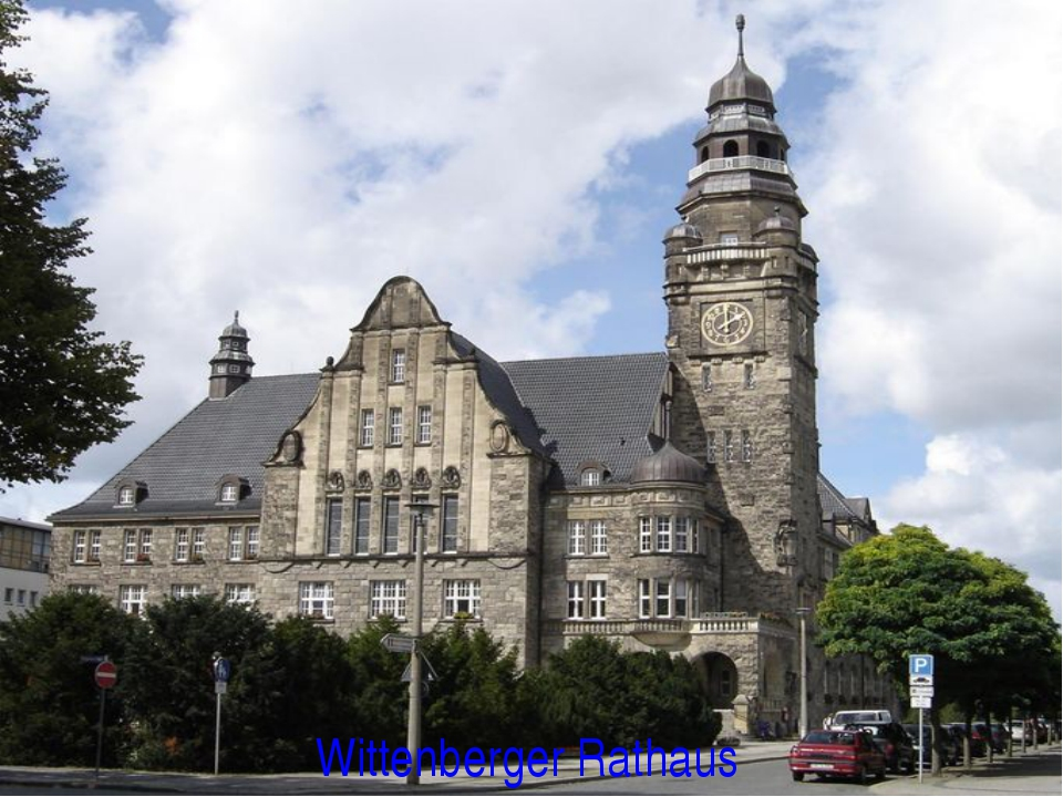 Wittenberger Rathaus