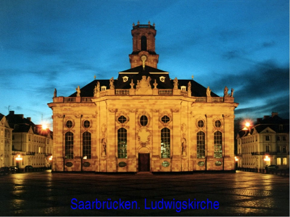 Saarbrücken. Ludwigskirche