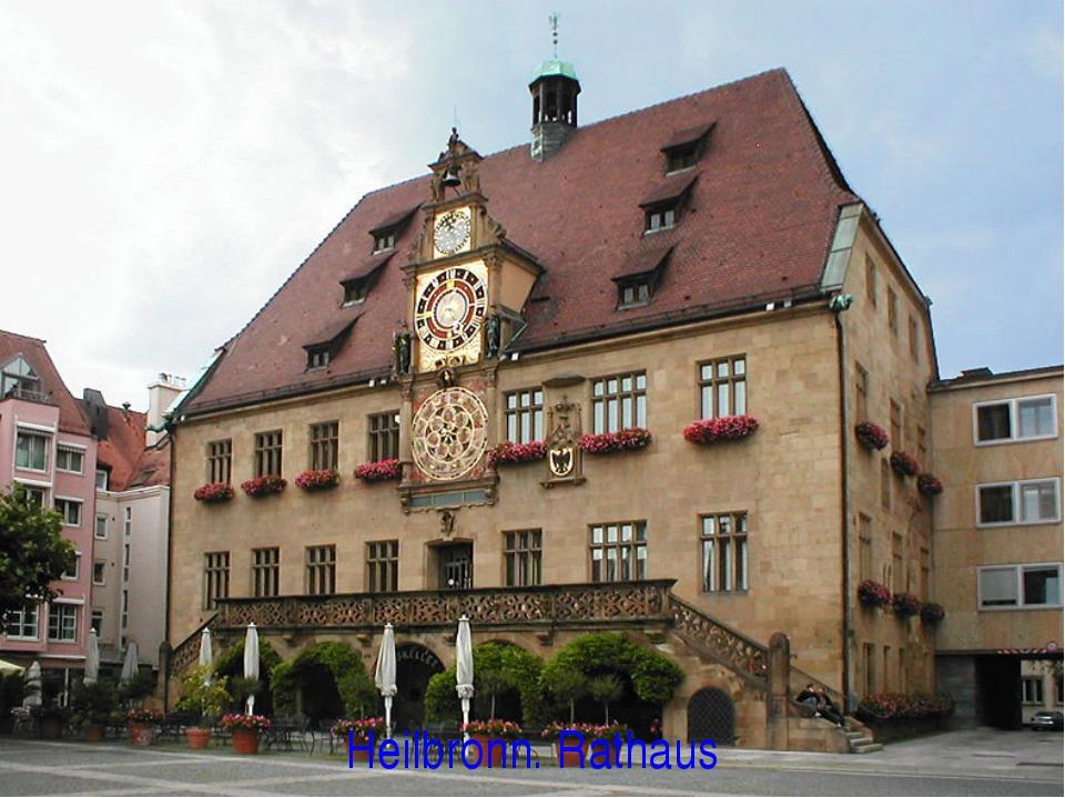 Heilbronn. Rathaus