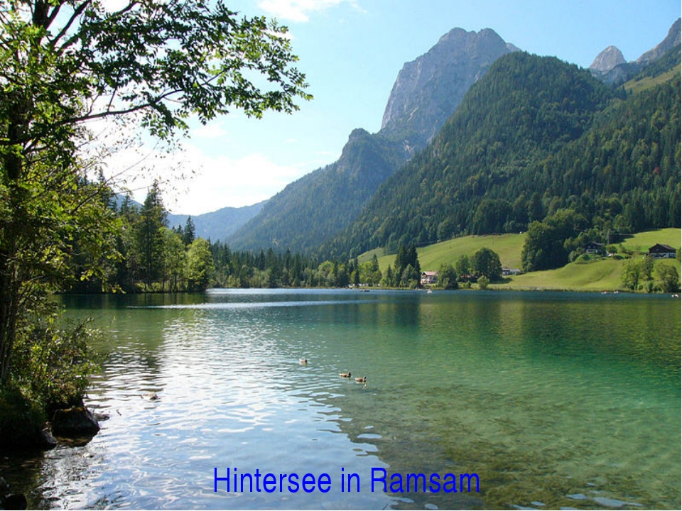 Hintersee in Ramsam