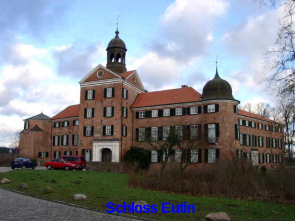 Schloss Eutin Schloss Eutin