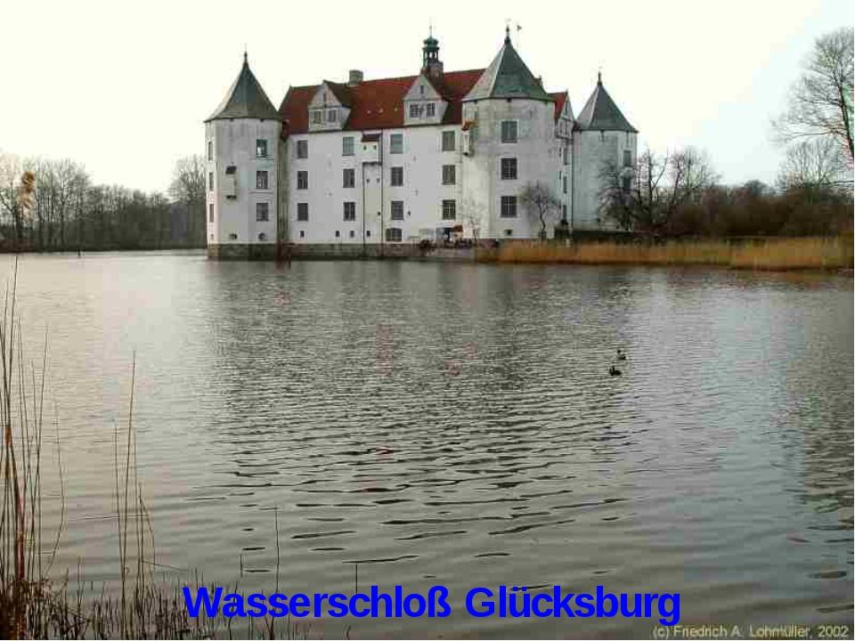 Wasserschloß Glücksburg