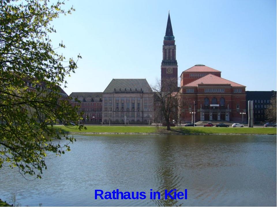 Rathaus in Kiel