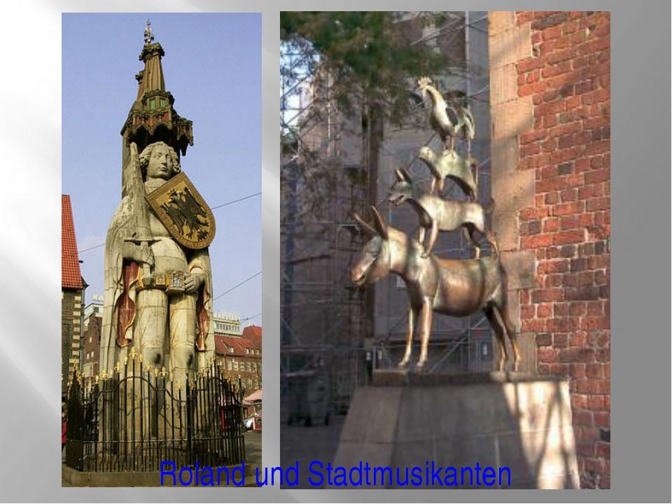 Roland und Stadtmusikanten