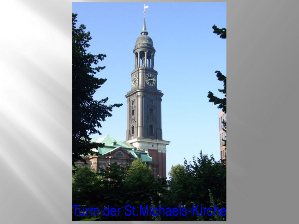 Turm der St.Michaels-Kirche
