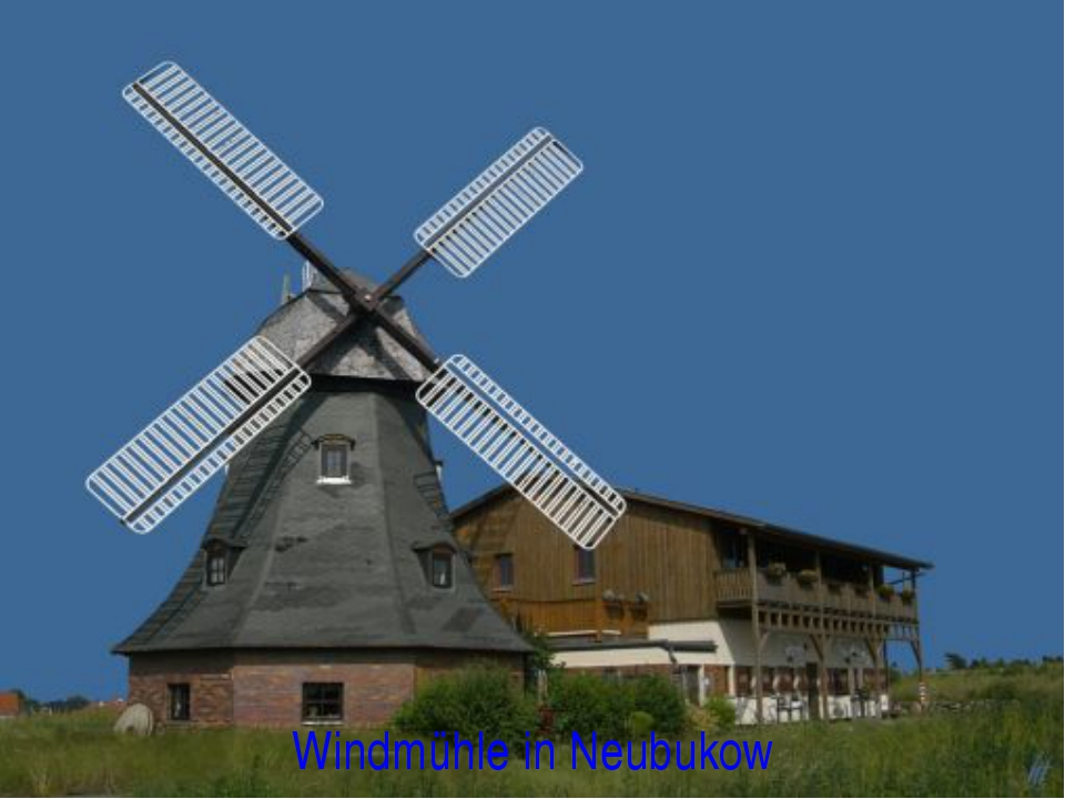 Windmühle in Neubukow