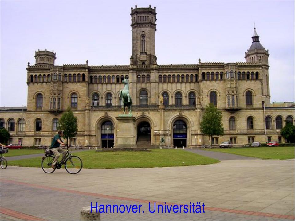 Hannover. Universität