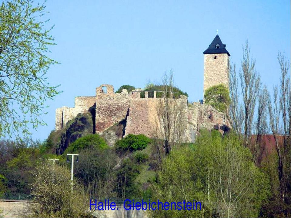 Halle. Giebichenstein