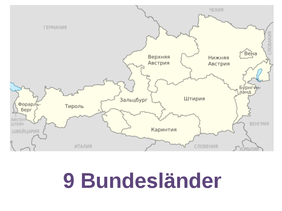 9 Bundesländer