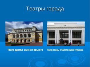 Театры города