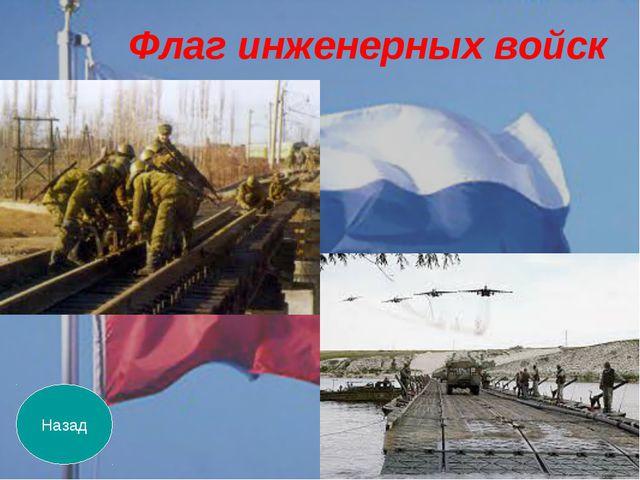 Назад Флаг инженерных войск