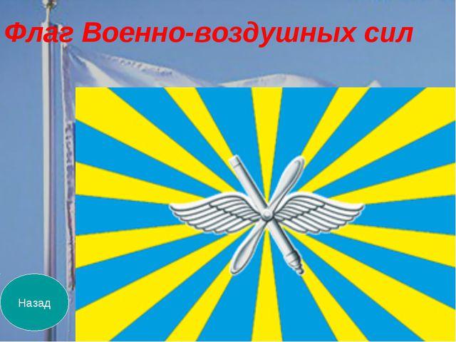 Назад Флаг Военно-воздушных сил