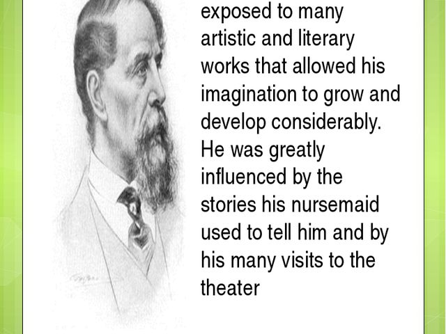As a young boy, Charles Dickens was exposed to many artistic and literary wor...