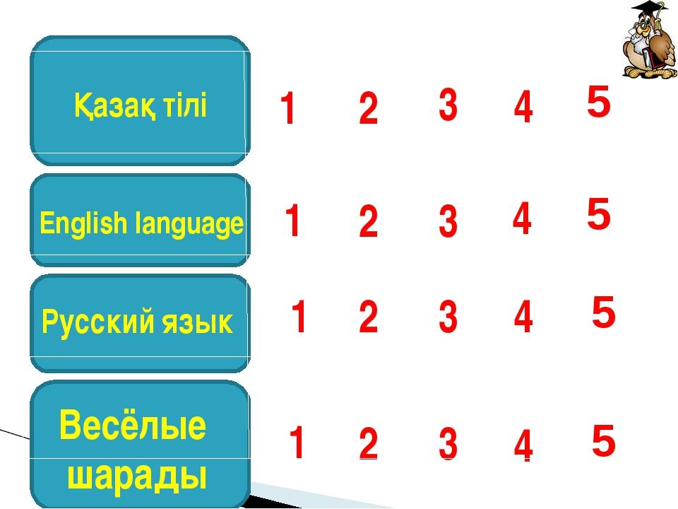 4 3 2 1 4 3 2 1 English language 4 3 2 1 Русский язык Весёлые шарады 4 3 2 1...