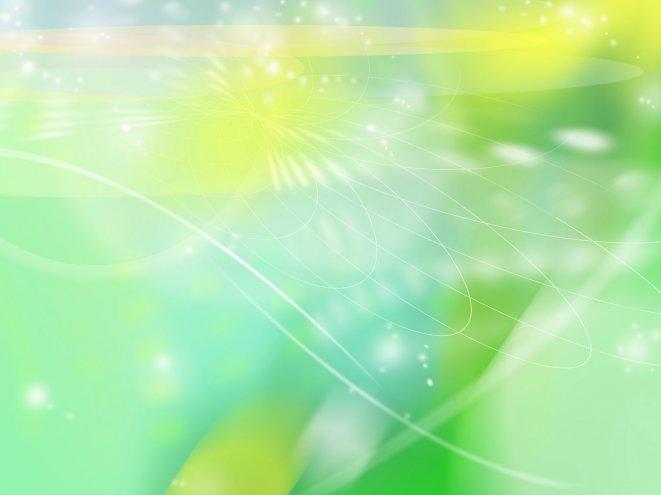 Абстрактные - зелёно-жёлтые - абстракция на стол обои