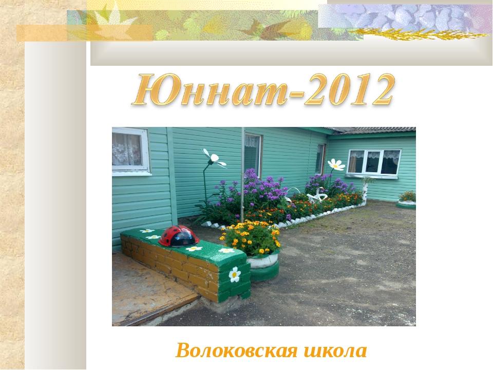 Волоковская школа