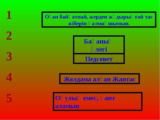 Бақаның әлегі Педсовет Жолдама алған Жантас Оқулық емес, қант аламын 1 2 3 4...