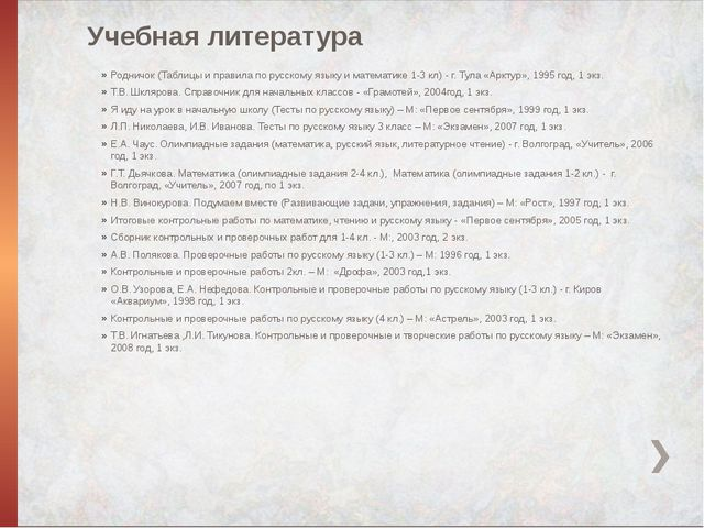 Учебная литература Родничок (Таблицы и правила по русскому языку и математике...